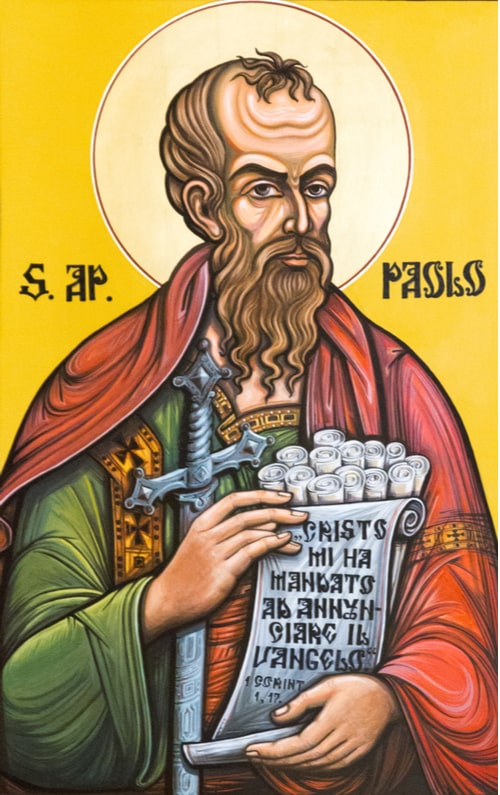 saint paul icon